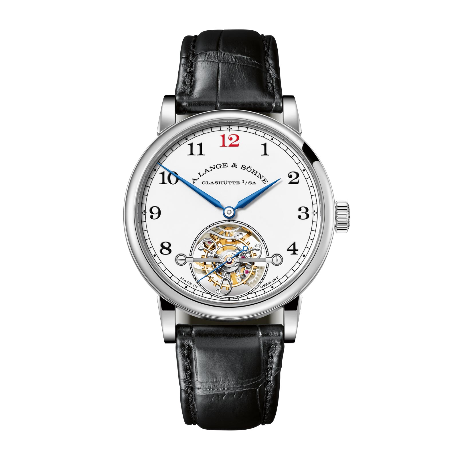 Limited-edition 1815 Tourbillon with enamel dial