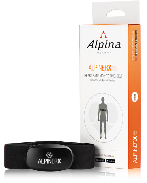 New heart rate monitoring belt for AlpinerX