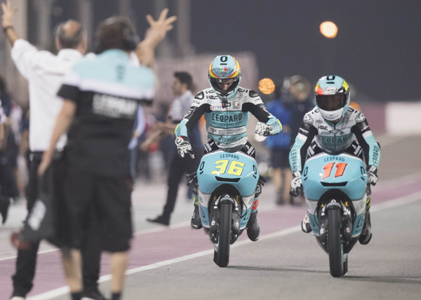 Double victory for Moto3 rider Joan Mir