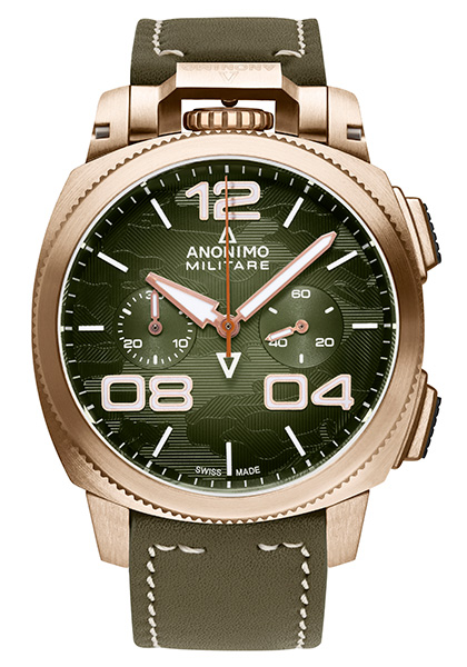Nostalgia: the Militare 20th anniversary chronograph in bronze
