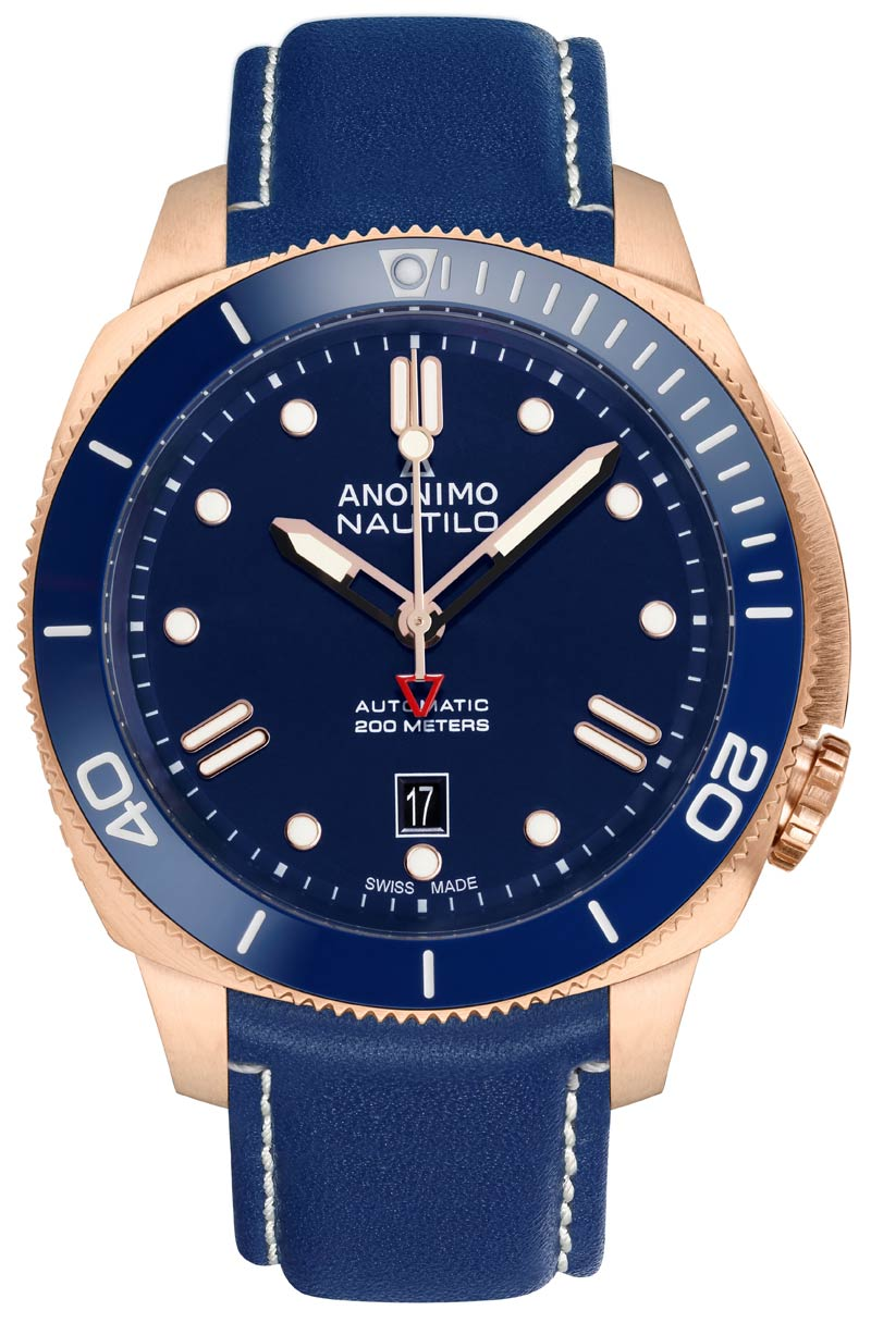 Nautilo Bronze Blue