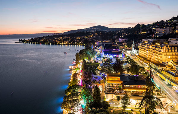 A new partner for the Montreux Jazz Festival