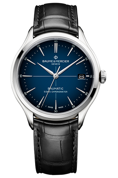 Simplicity and the Baume & Mercier Clifton Baumatic Chronometer