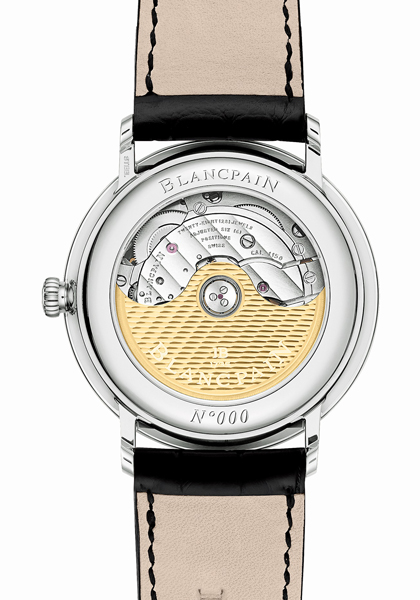 The Villeret Ultraplate, resolutely in tune with the times