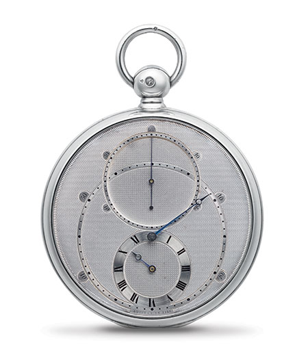 Breguet No. 3448, sold on July 12th, 1820.