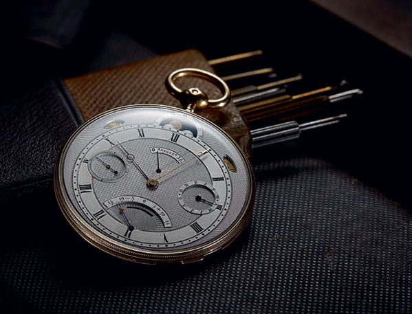 Breguet No. 4691, sold on October 13th, 1831.