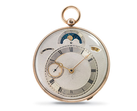 Breguet No. 3833, sold on May 12th, 1823.