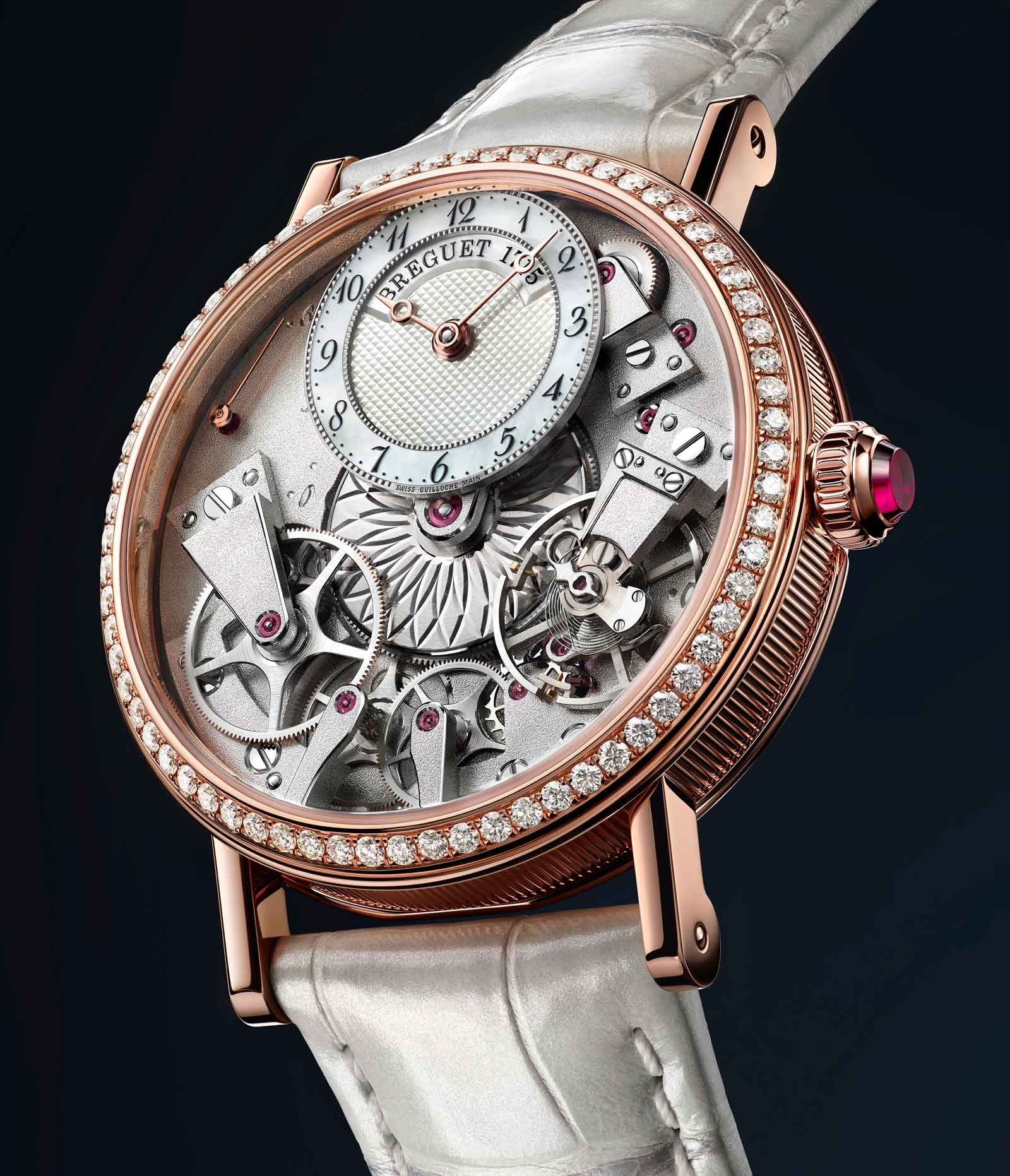 Tradition Dame 7038 in rose gold