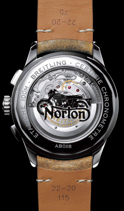 Premier B01 Chronograph 42 Norton Edition