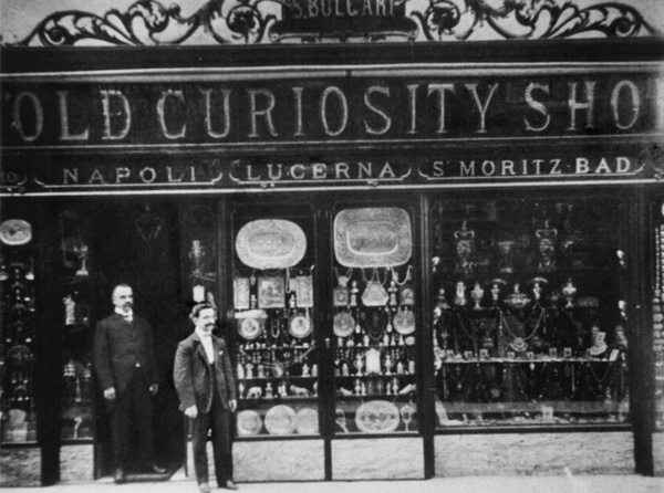 New curiosity shop