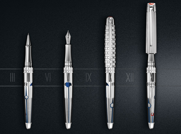 The 1010 Timekeeper limited edition fountain and roller pens
