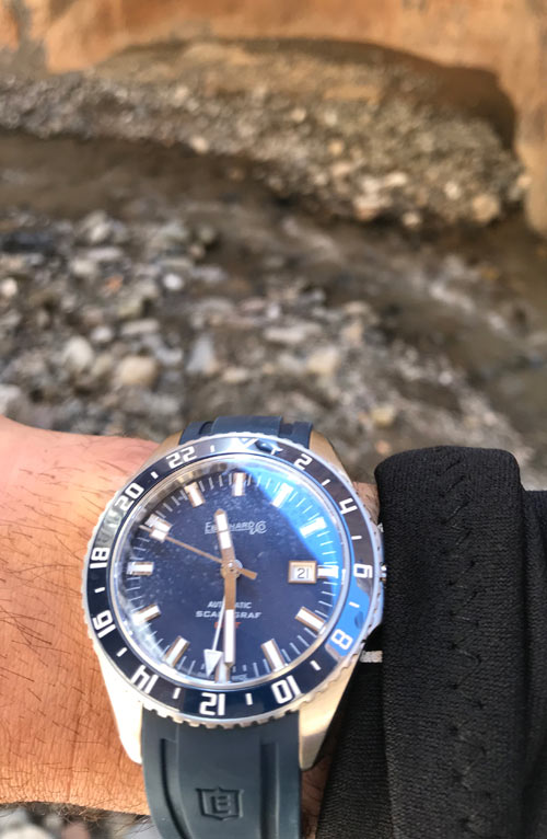 A Scafograf GMT, put to a punishing test in the Moroccan Atlas mountains