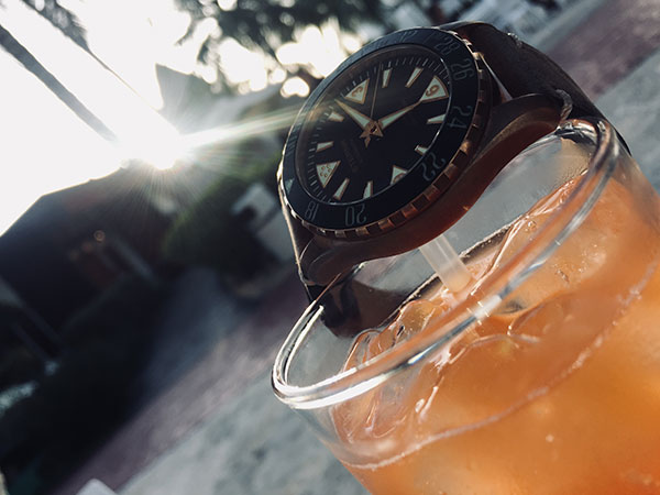 Real-life test: Eterna Kontiki Bronze (048/300)