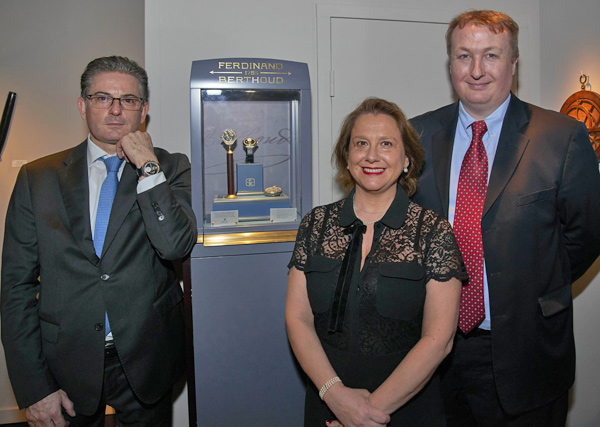 The FB 1 Chronometer exhibited in Maastricht