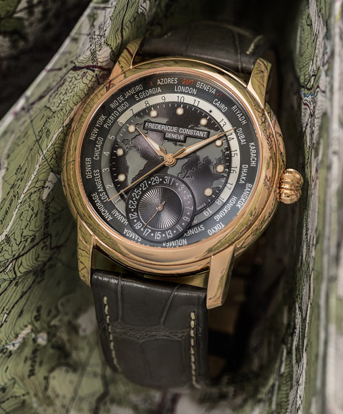 Classic Worldtimer Manufacture, grey