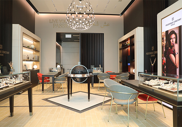 Frederique Constant boutique opening in Qatar