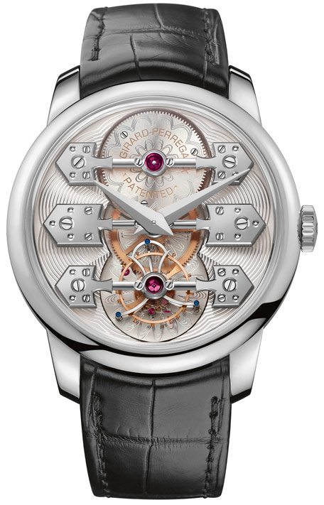 La Esmeralda Tourbillon, white gold