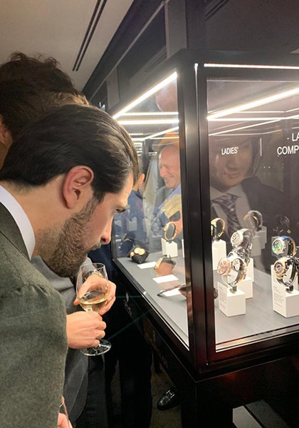 Pre-selected watches on show in Australia
