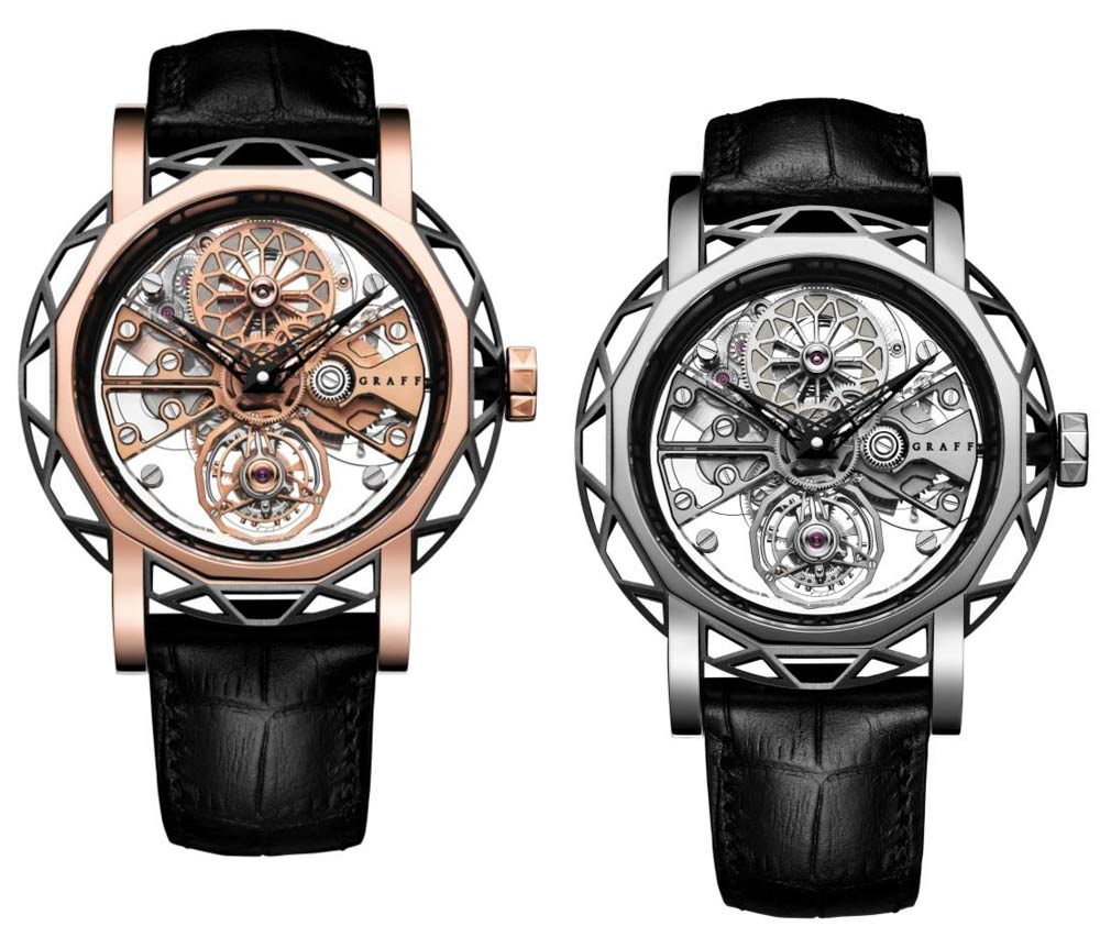 MasterGraff Structural Skeleton Automatic with flying tourbillon