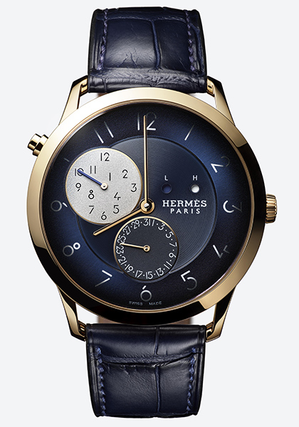 Slim d'Hermès GMT