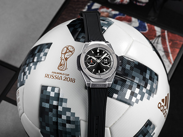 The first watch with a World Cup tie-in