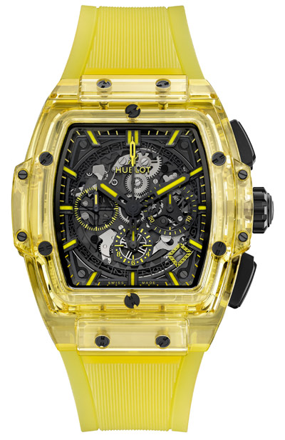 Spirit of Big Bang Yellow Sapphire