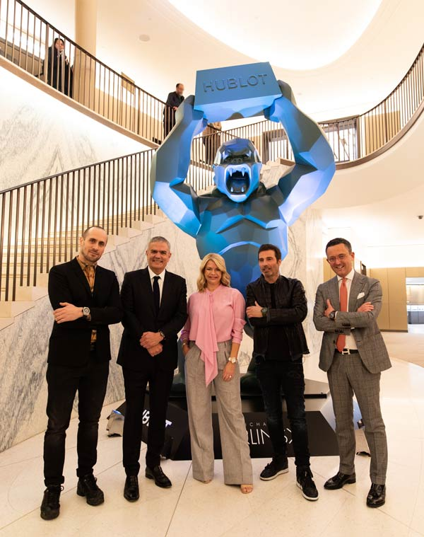 Hublot celebrates its 2019 partnerships at Harrods
