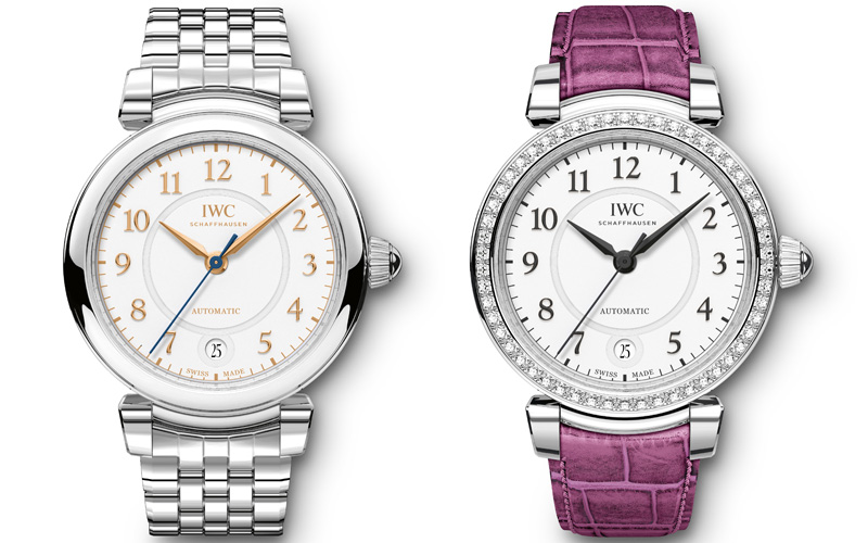 Da Vinci Automatic 36 ref. IW458307 and IW458308