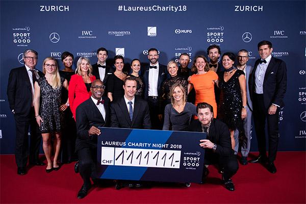 Laureus Charity Night 2018