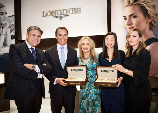 """Flagship Heritage by Kate Winslet"" timepieces auctioned in New York"