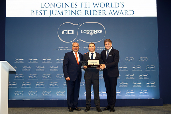 Longines FEI World's Best Jumping Rider & Horse Awards 2017