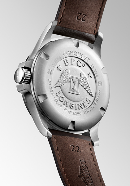 Longines adorns its Conquest V.H.P. with leather