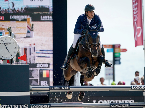 The first Swiss edition of the Longines Masters