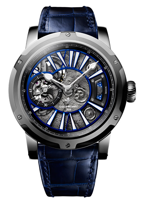 The planets align for Louis Moinet