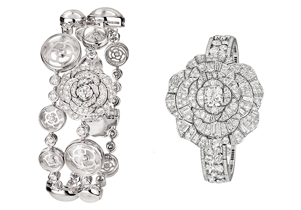 Couture high jewellery watches