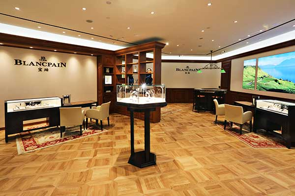 Blancpain boutique Malaysia