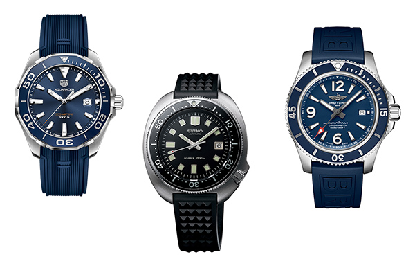 5, 10 or 15K: three tiers for summer watches