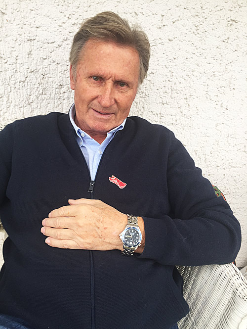 Erich Schärer and his Omega Seamaster