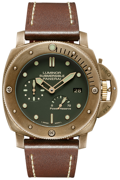"Limited editions and the Panerai PAM 968 Bronzo, ""Brownzo"""