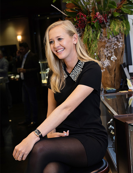 Jessica Korda, new Friend of the Brand