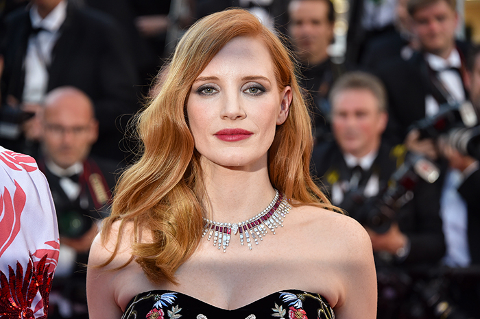 Jessica Chastain at the Cannes Film Festival