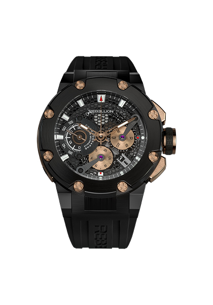 The brand customizes its Predator Chronograph in honour of the Dakar Rally