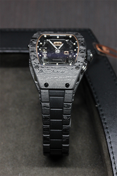 Richard Mille, a rare sighting in captivity