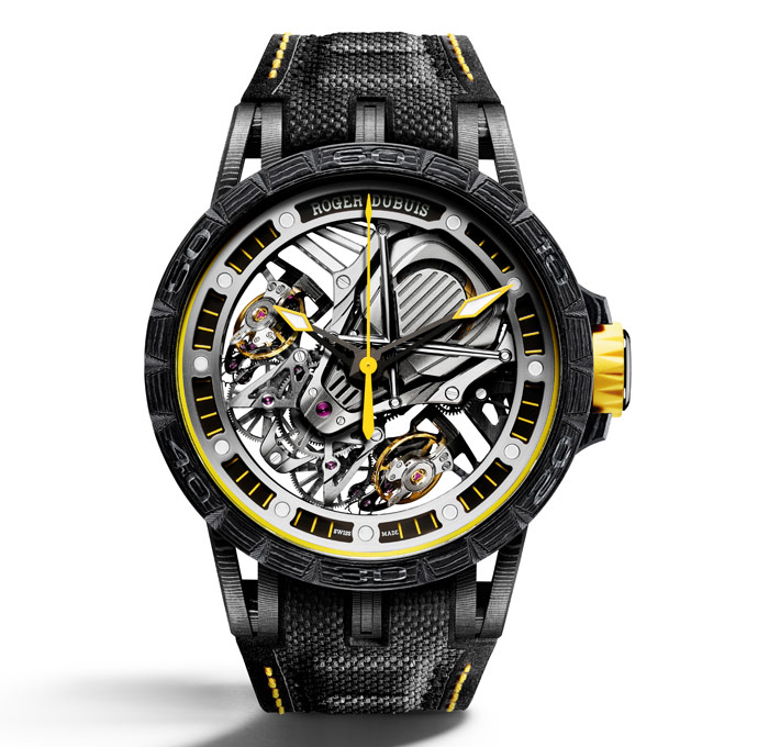 Roger Dubuis and Lamborghini – a partnership forged in carbon