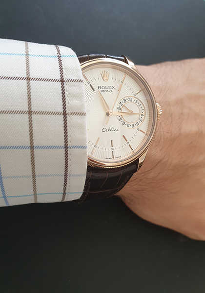Wildcard: Rolex Cellini