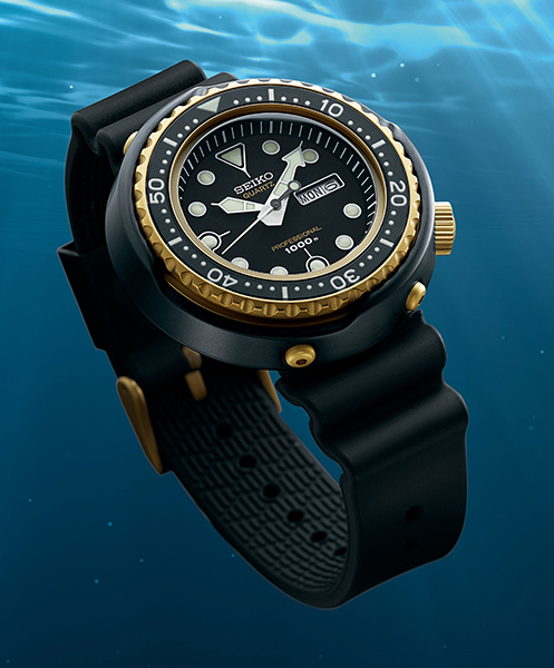Commemorative diver's watches