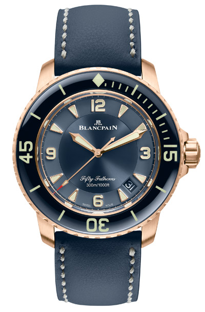 Une Blancpain Fifty Fathoms aux allures californiennes