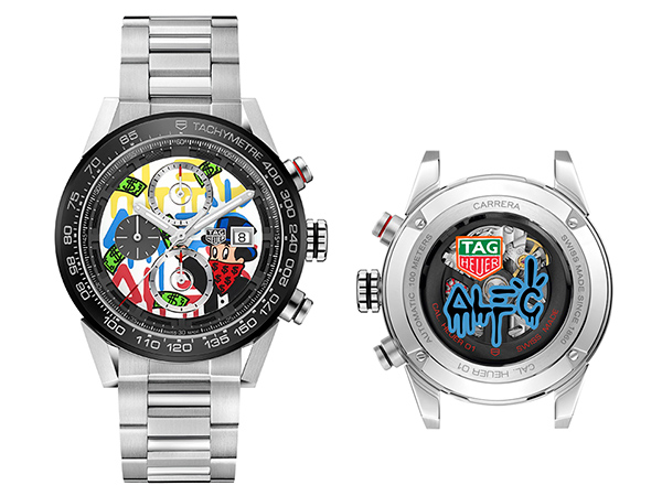Two new watches designed by Alec Monopoly