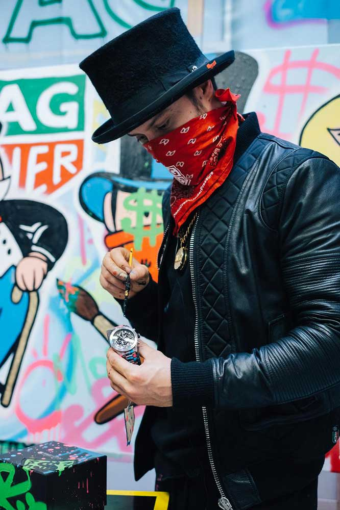 Alec Monopoly at the manufacutre