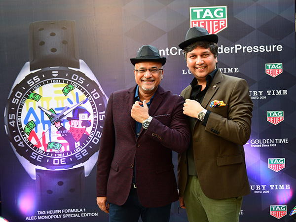 Alec Monopoly Watch launched in Ahmedabad, India